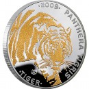 "Silver Coin TIGER 2009 ""Disappearing Animals"" Series"