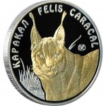 "Silver Coin CARACAL 2009 ""Disappearing Animals"" Series"
