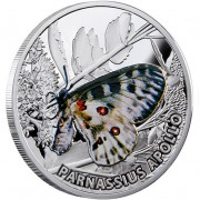 "Silver Coin APOLLO 2010 ""Butterflies"" Series"