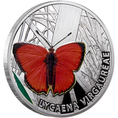 "Silver Coin SCARCE COPPER 2010 ""Butterflies"" Series"