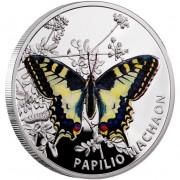 "Silver Coin OLD WORLD SWALLOWTAIL 2011 ""Butterflies"" Series"