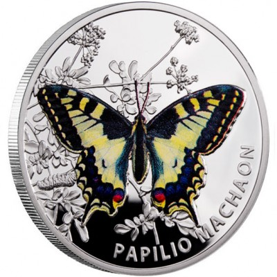 "Silver Coin OLD WORLD SWALLOWTAIL 2011 ""Butterflies"" Series"