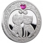 Silver Coin MY LOVE 2011