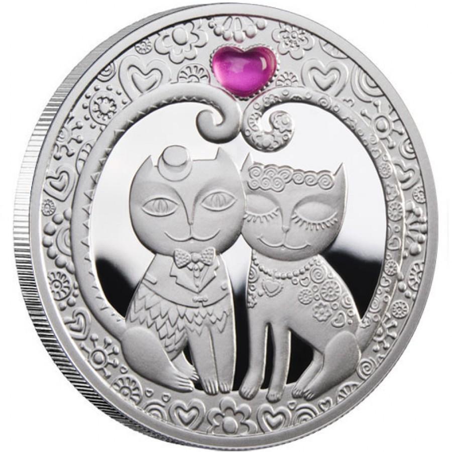 Серебряные монеты в подарок