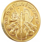 VIENNA PHILHARMONIC GOLD BULLION COIN 2012 - 1/2 OZ