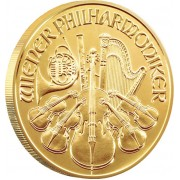 VIENNA PHILHARMONIC GOLD BULLION COIN 2012 - 1/4 OZ