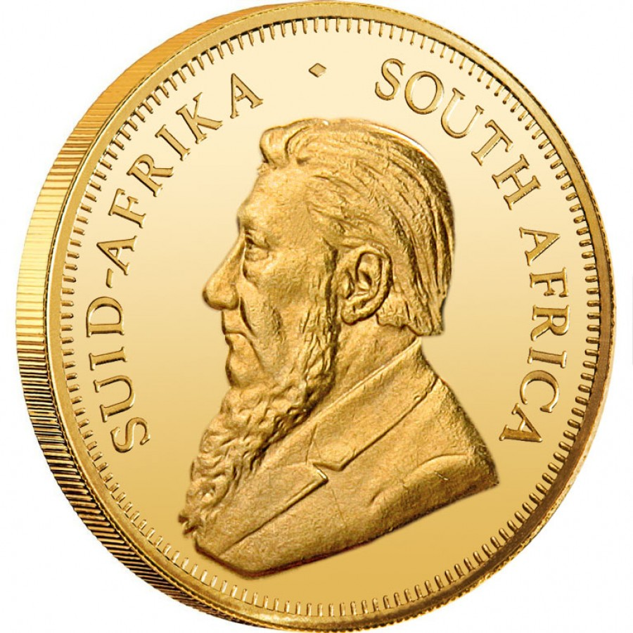 Gold Bullion Coin South African Krugerrand 2012 1 Oz