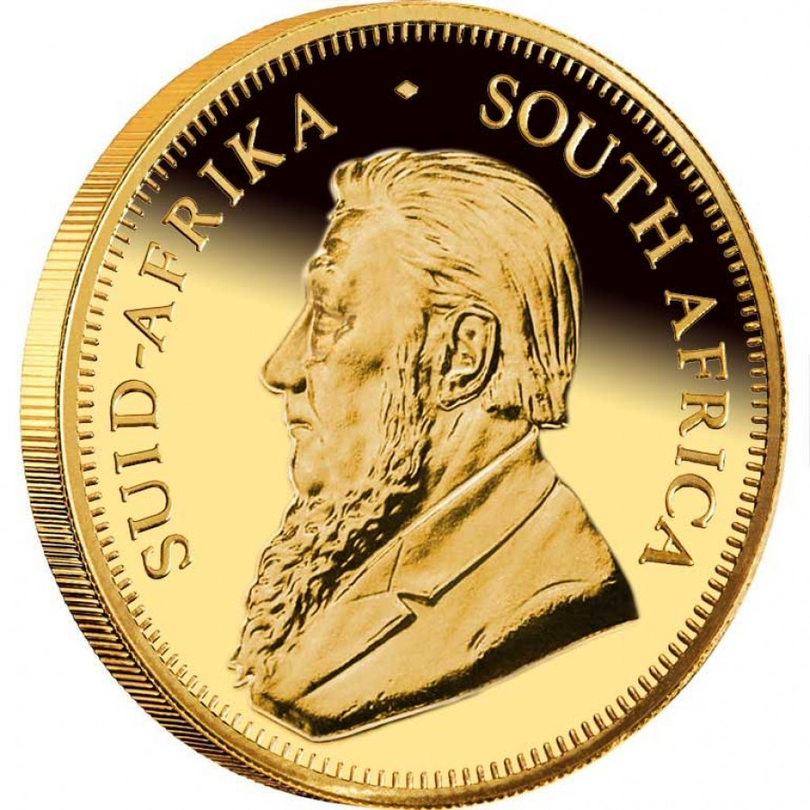 Gold Coin South African Krugerrand 2012 1 2 Oz