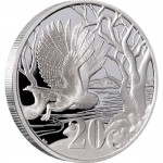 "Silver Coin PEL'S FISHING OWL 2012 ""Peace Park"" Series- 1 oz"