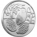 "Silver Coin SEED POD OF THE BAOBAB TREE 2012 ""Peace Park"" Series- 1/4 oz"