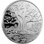 "Silver Coin BAOBAB TREE 2012 ""Peace Park"" Series- 2 oz"