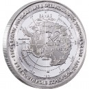 Silver Coin 100 YEAR ANNIVERSARY OF THE DISCOVERY OF THE SOUTH POLE 2012