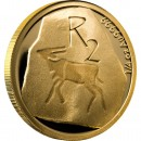 Gold Coin THE KHOISAN HERITAGE 2012