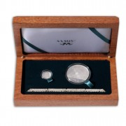"""""""Trains of South Africa"""" Series 2012  Two Silver Coin Set 1 oz, 1/20 oz"""