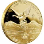 Mexican Libertad Gold Proof Coin 2012 - 1/10oz