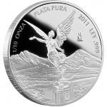 Mexican Libertad Silver Proof Coin 2012 - 1/10 oz