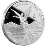 Mexican Libertad Silver Proof Coin 2012 - 1 oz