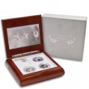 RUSSIAN SEASONS IN PARIS 2009 Three Silver Coin Set