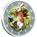 "Silver Coin ALICE IN WONDERLAND 2011 ""2011 Lunar Year of the Rabbit"" Series"