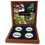 1930's CLASSIC SPEEDSTERS 2010 Four Silver Coin Set