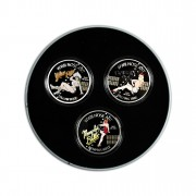 """WWII Nose Art"" Series Three Coin Set 2012, Niue - 1 oz"
