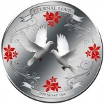 Silver Coin ETERNAL LOVE 2011