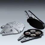 """""""Star Wars"""" 2012 Second Release Four Silver Coin Set"""