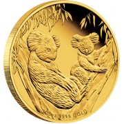 Australian Koala Gold Proof Coin 2011 - 1/25oz