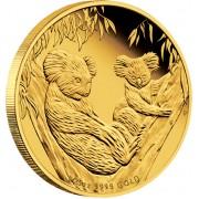 Australian Koala Gold Proof Coin 2011 - 1/25oz