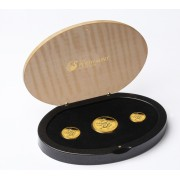 Gold Lunar Proof Series Three-Coin Set 2012 - Year of the Dragon