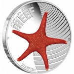 "Silver Coin THE REEF- STARFISH 2011 ""Australian Sea Life"" Series"