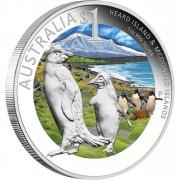 "Silver Coin HEARD AND MCDONALD ISLANDS 2010 ""Celebrate Australia"" Series"