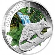 "Silver Coin ADELAIDE - TASMANIAN WILDERNESS 2011 ""ANDA. Celebrate Australia"" Series"