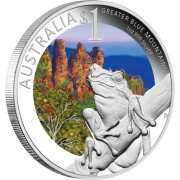 "Silver Coin SYDNEY - GREATER BLUE MOUNTAINS 2011 ""ANDA.Celebrate Australia"" Series"