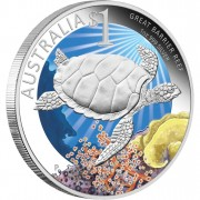 "Silver Coin GREAT BARRIER REEF 2011 ""Celebrate Australia"" Series"