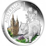 "Silver Coin SOUTH AUSTRALIA 2010 ""Celebrate Australia"" Series"
