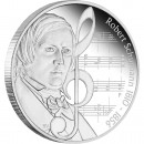 "Silver Coin ROBERT SCHUMANN 2010 ""Great Composers"" Series"