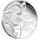 "Silver Coin FREDERIC CHOPIN 2010 ""Great Composers"" Series"