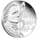 "Silver Coin FRANZ LISZT 2011 ""Great Composers"" Series"