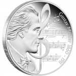 "Silver Coin GUSTAV MAHLER 2010 ""Great Composers"" Series"