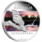 "Silver Coin KOOKABURRA ""Discover Australia 2012"" Series"