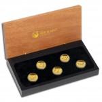 """Discover Australia 2012"" Series  Five Silver Coin Set  - 1/10 oz, Proof"