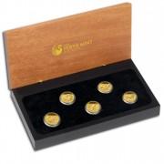 """Discover Australia 2012"" Series  Five Silver Coin Set  - 1/25 oz, Proof"