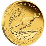"Gold Coin KANGAROO 2012 ""Discover Australia 2012"" Series - 1/10 oz, Proof"