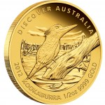 "Gold Coin KOOKABURRA 2012 ""Discover Australia 2012"" Series - 1/2 oz, Proof"