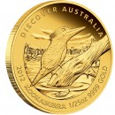 "Gold Coin KOOKABURRA 2012 ""Discover Australia 2012"" Series - 1/25 oz, Proof"