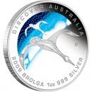 "Silver Coin BROLGA ""Discover Australia 2009 Dreaming"" Series"