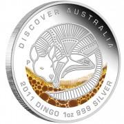 """Silver Coin DINGO """"Discover Australia 2011 Dreaming"""" Series"""