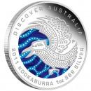 "Silver Coin KOOKABURRA ""Discover Australia 2011 Dreaming"" Series"