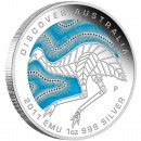 "Silver Coin EMU ""Discover Australia 2011 Dreaming"" Series"